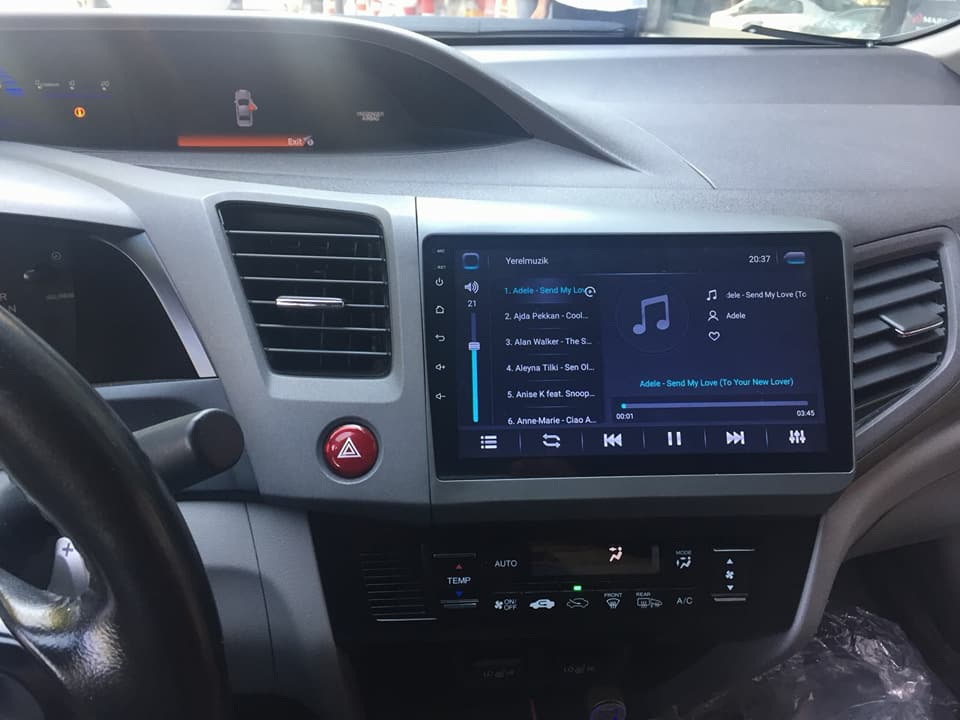 Honda Civic FB7 Multimedia ve Ses Sistemi